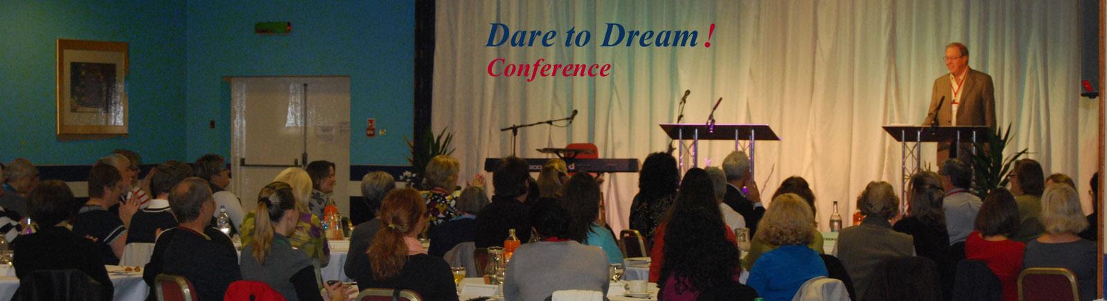 Dare to Dream Conference 2016 header
